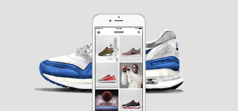 The relsease of Nike's SNKRS app improved direct-to-customer sales in 2019